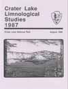 Crater Lake limnological  studies 1987 annual report