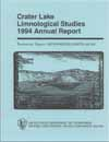 Crater Lake limnological studies 1994 annual reports