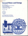 Ground Water and Energy: Proceedings of the U.S. Department of Energy's National Workshop, Albuquerque, New Mexico,...