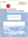 Agribusiness Geothermal Energy Utilization Potential of Klamath and Western Snake River Basins,...