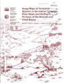 Range maps of terrestrial species in the interior Columbia River basin and Northern portions of...