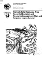 Klamath Falls Resource Area record of decision and resource management plan and rangeland program...