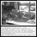 Fire Damage to Project Office - August 10, 1975